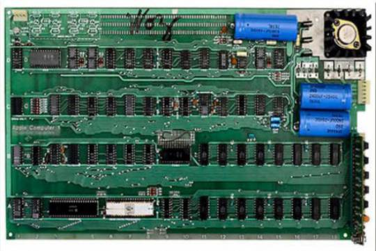 Steve Wozniack signed Apple 1 computer motherboard