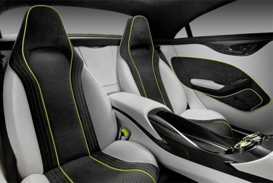 Mercedes Benz Concept Style coupe interior