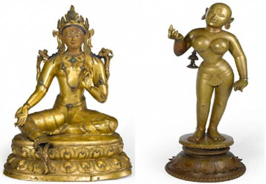 Copper Alloy statues