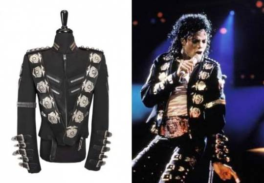 Michael Jackson Dangerous Bad Tour Jacket