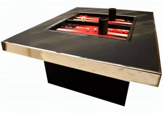 automotive leather coffee game table UJ2rK 52