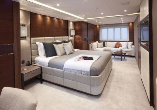 Princess 40M  Bedrooms