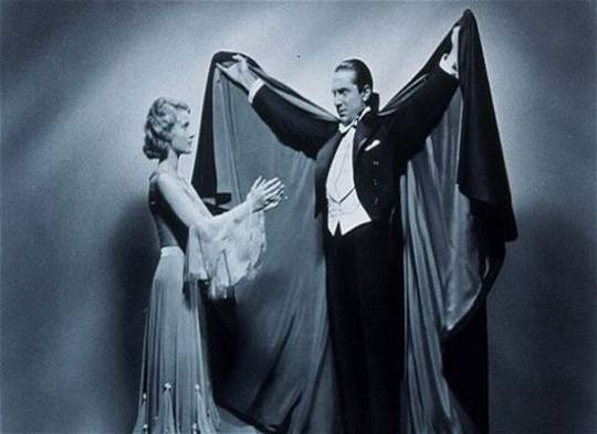 Cape worn in early Dracula film