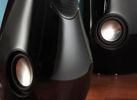 The Audiophile's $40,000 Lacrima Speakers are shaped like a swan
