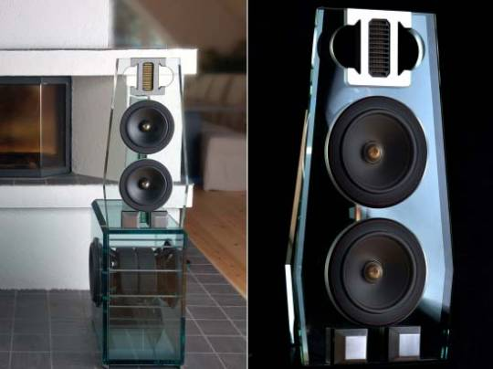 Swedish high-end audio manufacturer Perfect8 introduces glass loudspeaker