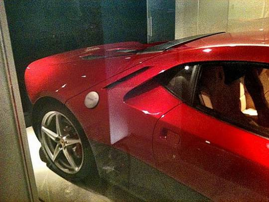 Eric Clapton's custom made Ferrari SP12