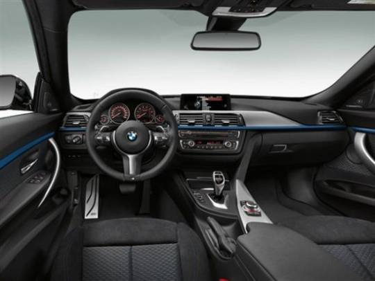2014 BMW 3 Series Gran Turismo Interior