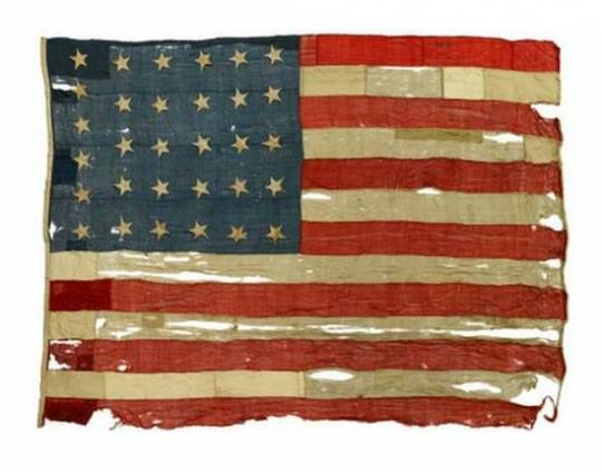 USS Constitution naval flag collection