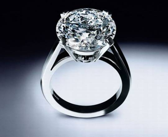World's most expensive engagement ring