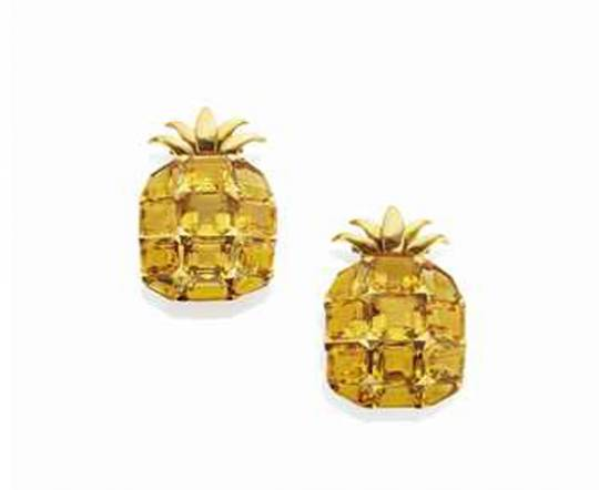 The pineapple shaped clips