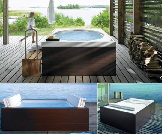 duravit outdoor tubs
