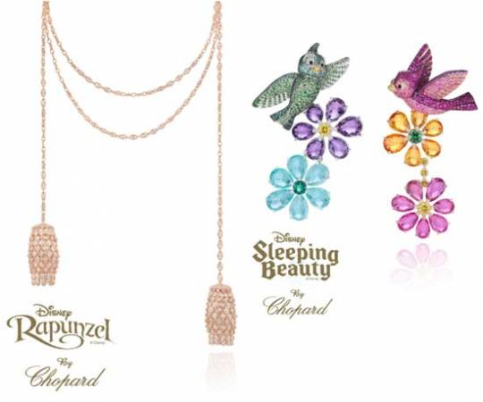 Rapunzel by Chopard & Sleeping Beauty by Chopard