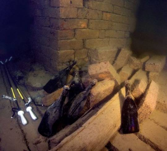 Veuve Clicquot Champagne that has spent 170 years in a shipwreck goes on auction