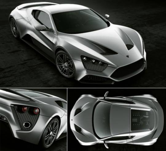 ZENVO ST-1 supercar by Zenvo Automotive