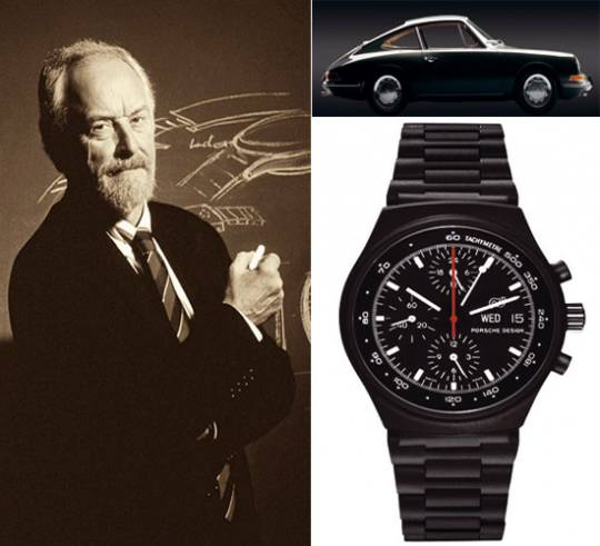 Professor Porsche and his iconic creations