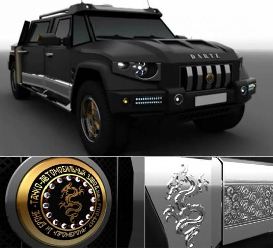 Dartz Prombron Black Dragon China Edition SUV