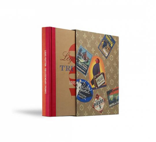 100 legendary trunks-the book which describes Louis Vuitton's history in trunk making