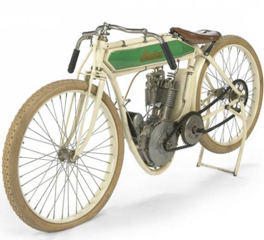The Steve McQueen 1914 Indian Model F bike