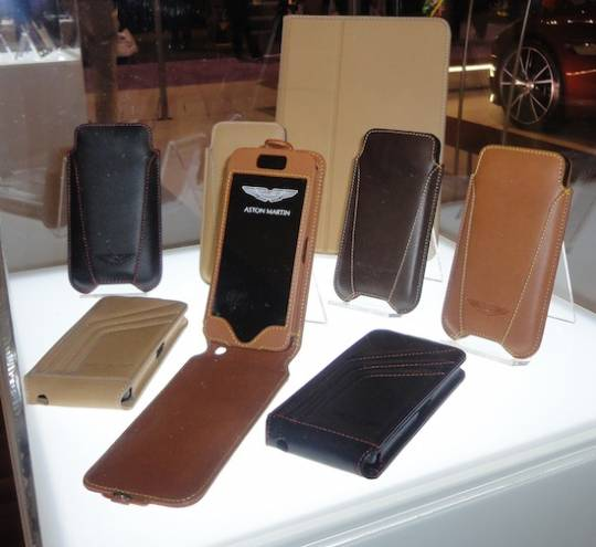 Aston Martin mobile accessories