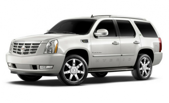 Rick Ross drives Cadillac Escalade