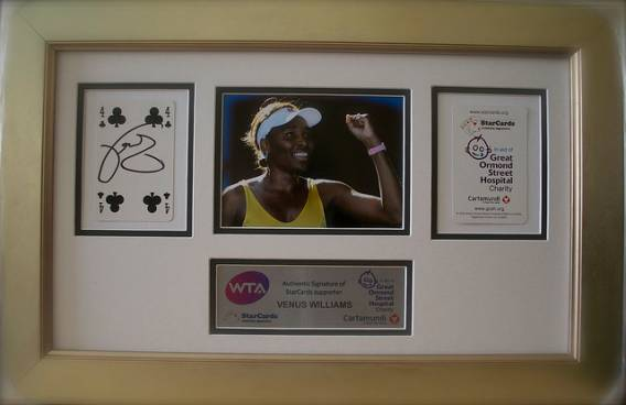 Venus Williams supports Great Ormond Street Hospital efforts