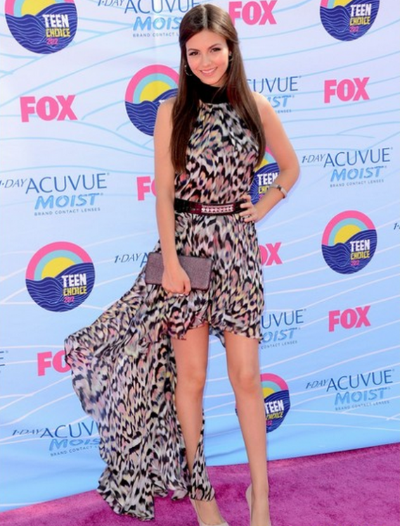 Victoria Justice has been spotted wearing Gomez-Gracia Easy Access Dress several times