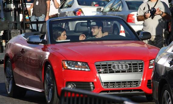 photo of Justin Timberlake Audi S5 Cabriolet - car