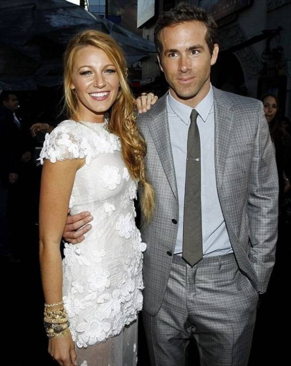 Blake Lively and Ryan Reynold