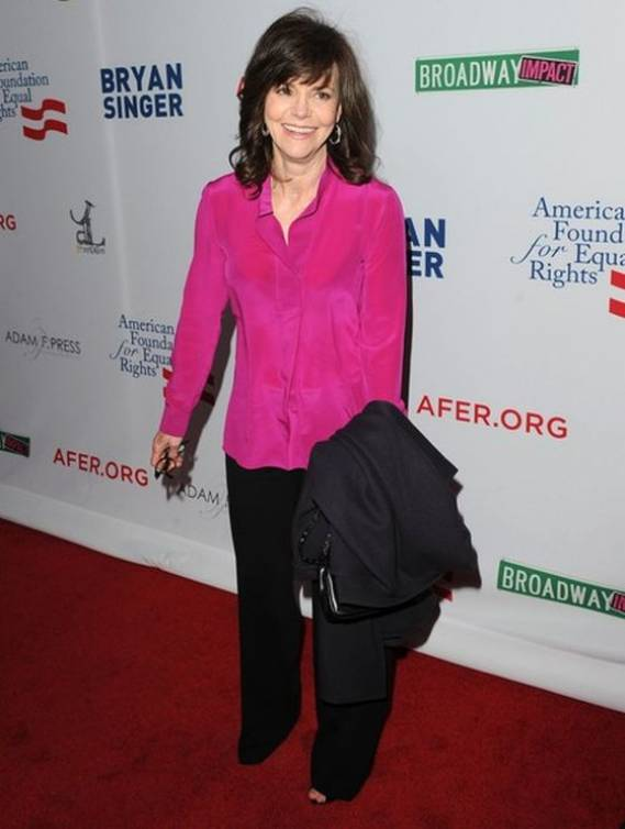 Sally Field supports American Foundation for Equal Rights program
