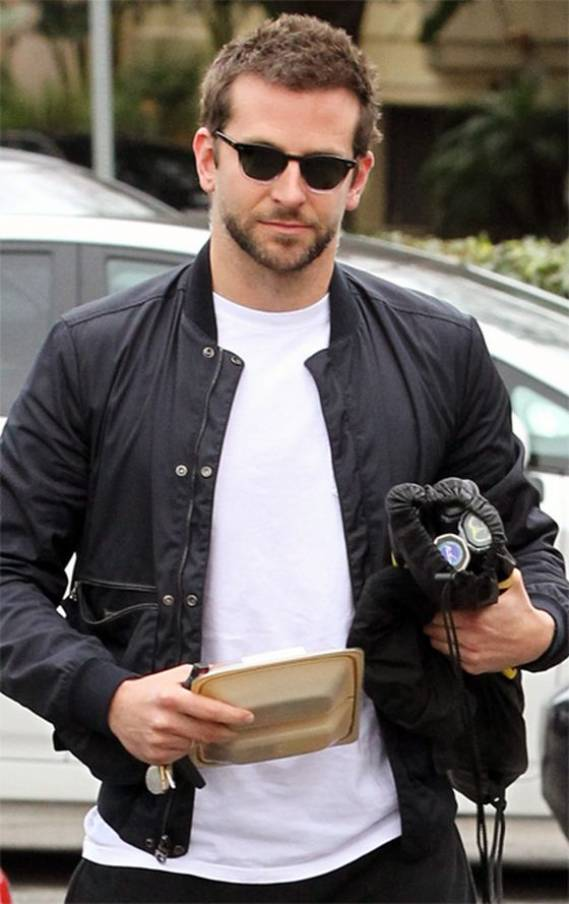 Bradley wears Ray-Ban 3016 Clubmaster Sunglasses