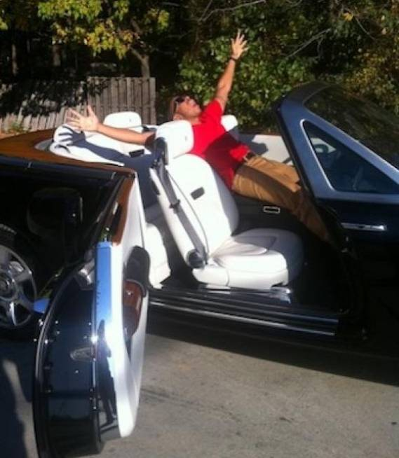 Ludacris' Rolls Royce Phantom Drophead Coupe
