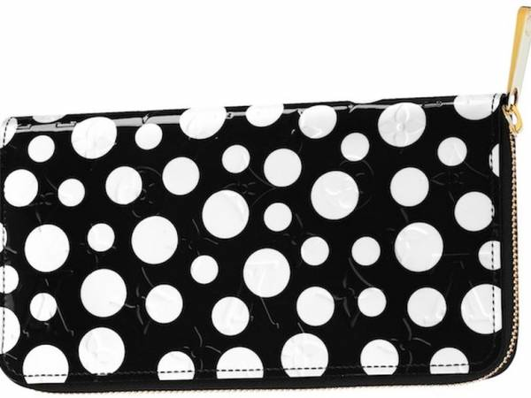 Monogram Vernis Dots Infinity Zippy Wallet