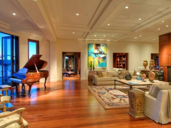 Piano In The Family Room