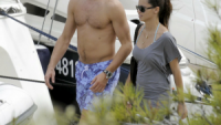 Adriana Lima was recently spotted at Croatia, enjoying a true Mexican holiday with her Serbian fiance Marco Janic