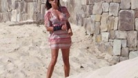 Cindy Crawford on vacations in Mexico