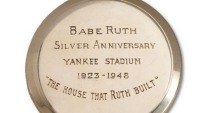 Pocket watch awarded to Babe Ruth tops $650,000 at auction