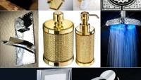 Luxury bathroom fittings for bling lovers