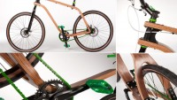 Eco friendly Bonopo plywood bicycle is a perfect green transport