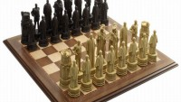 Luxurious Diamond Jubilee chess set celebrates the British royal heritage