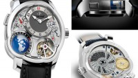 Greubel Forsey GMT complication watch brings the world on your wrists with a 3D globe