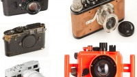 Rare Leica cameras sold at auction