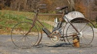 A 1906 Indian Camelback motorcycle to fetch $75,000 at Bonhams auction