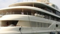 Super luxury yacht Dilbar