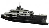 Gian Paolo Nari's expedition vessel merges yacht design and aviation