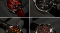 Angular Momentum handmade timepieces with Urushi Lacquer dials