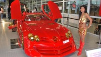 Ueli Anliker Design does SLR McLaren with gold and rubies