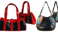 Passchal luxury handbags made of recycled tire inner tubes
