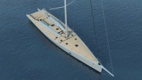 Wally unveils the 100ft Wallycento sailing yacht