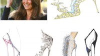 Footwear for the future princess in the royal wedding