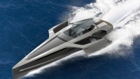 Stephanie Behringer's trimaran yacht is an Audi fit for your wet dreams